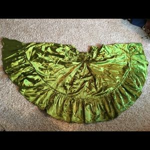 Dresses & Skirts - Satin gypsy circle skirt and scarf